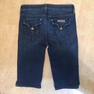 Hudson denim Bermuda style shorts